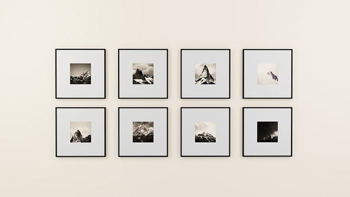 Jaką funkcję dekoracyjną pełnią ramki na kilka zdjęć?