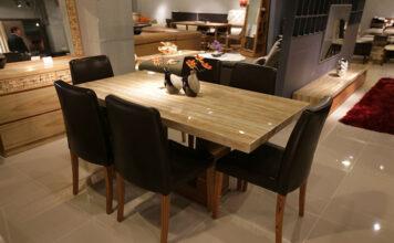 stoły do nowoczesnej jadalni